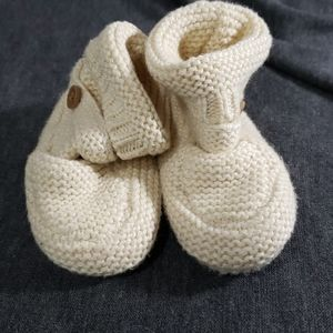 GAP Baby Booties - Size 3-6 months